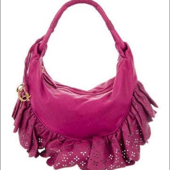 Christian Dior Bags   Leather Laser Cut Boho Festival Bag   Poshmark 0343dd5ddc